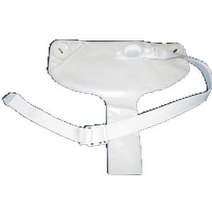 Nu-Hope Non-adhesive Ileostomy Convenience Set with Medium O-ring Small Pouch