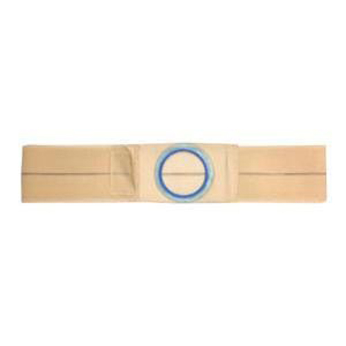 """Nu-Hope Original Flat Panel Support Belt, 3"""" Center Stoma, 4"""" Wide, Large, Beige"""