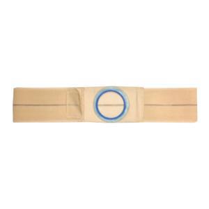 Nu-Hope Original Flat Panel Support Belt, Medium Oval Center Stoma, XL, Beige