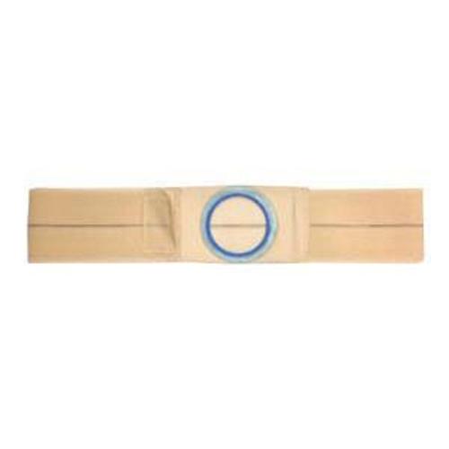"""Nu-Hope Original Flat Panel Support Belt, 2-5/8"""" Center Stoma, Large, Beige"""