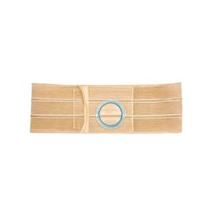 """Nu-Hope Original Flat Panel Support Belt, 2-5/8"""" Center Stoma, 5""""Wide, XL, Beige"""