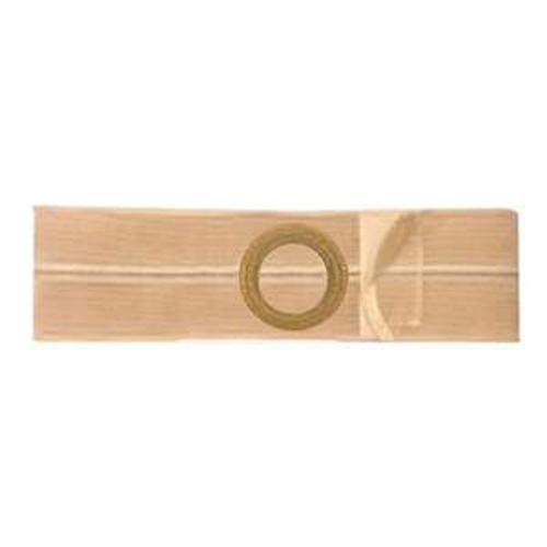 """Nu-Form Support Belt, 2-5/8"""" x 3-1/8"""" Center Stoma, 4"""" Wide, Large, Beige"""