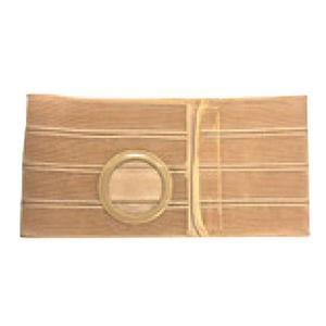 """Nu-Form Support Belt, 2-5/8"""" x 3-1/8"""" Right Stoma, 7"""" Wide, Large, Beige"""