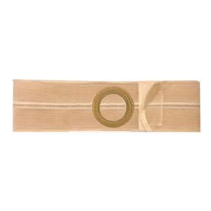 "Nu-Form Support Belt, 2-3/8"" Center Stoma Opening, 4"" Wide, X-Large, Beige"