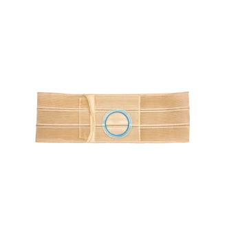 "Nu-Hope Original Flat Panel Support Belt, 2-5/8"" x 3-1/8"" Left Stoma, X-Large"