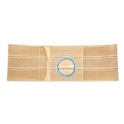 """Nu-Hope Original Flat Panel Support Belt, 3-1/4"""" Left Stoma, 7"""" Wide, XL, Beige"""