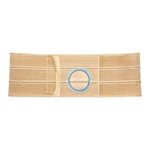 Nu-Hope Original Flat Panel Support Belt 3'' Left Stoma 6'' W X-Large Beige