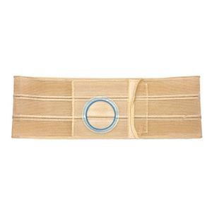 Nu-Hope Original Flat Panel Support Belt 3'' Right Stoma 6'' W Large Beige