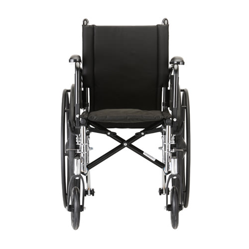 Nova Lightweight Wheelchair - 16 Inch With Swing Away Footrests