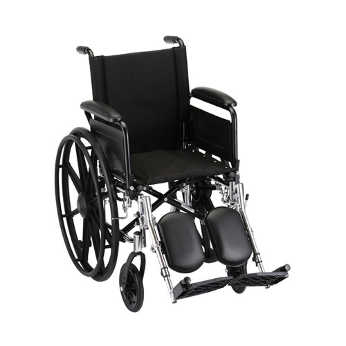 Nova Lightweight Wheelchair - 16 Inch With Elevating Leg Rests
