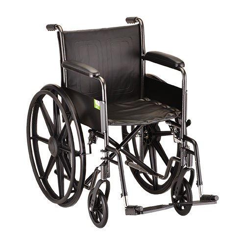 Nova Standard Steel Wheelchair - 16 Inch