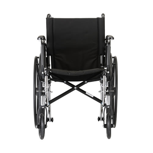 Nova Lightweight Wheelchair - 18 Inch With Swing Away Footrests