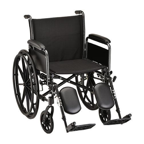 Nova 20 Inch Wheelchair With Detachable Full Arms