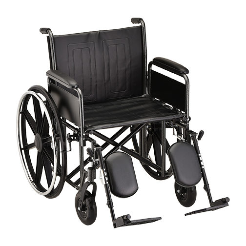 Nova Heavy Duty Steel Wheelchair