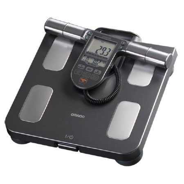 Omron Digital Body Analyzer Black and Silver 330 lbs
