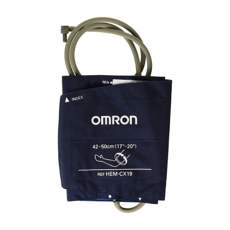 Omron IntelliSense Reusable Arm Blood Pressure Cuff, X-Large Blue Cuff