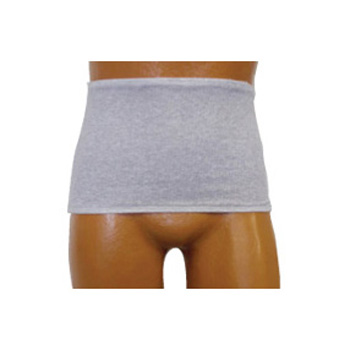 Options Mens' Left Stoma Ostomy Care Wrap/Brief, 2X-Large, Light Gray