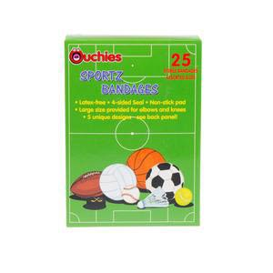 Ouchies Sportz Adhesive Bandage for Kids