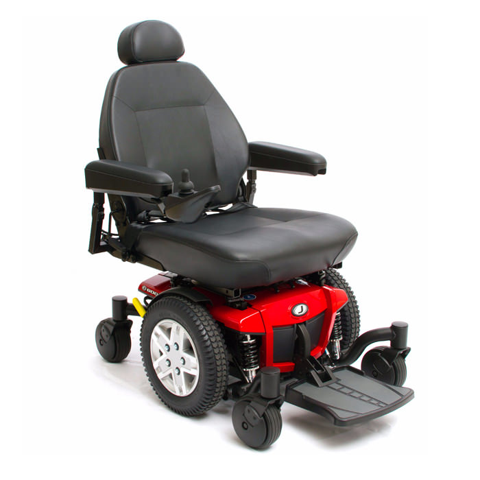 Pride Jazzy 600 ES power wheelchair