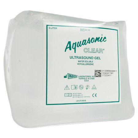 Aquasonic Clear Sonicpac Ultrasound Gel, Clear