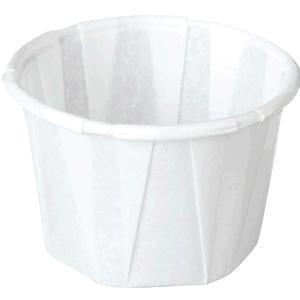 Papercraft Souffle Cup, Paper, 1 oz.