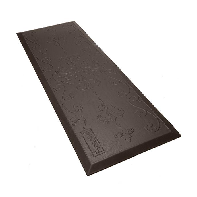 Protekt Beveled Floor Mat - Brown