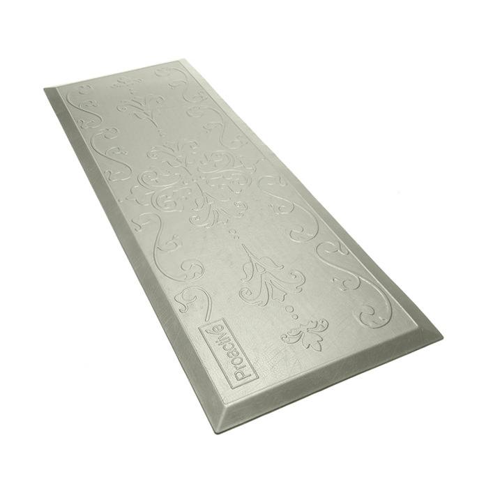 Protekt Beveled Floor Mat - Gray