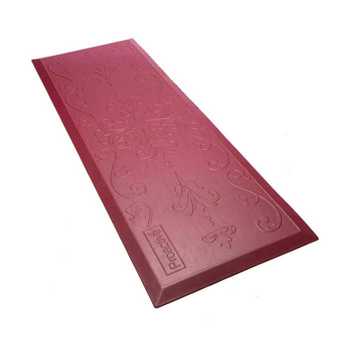 Protekt Beveled Floor Mat - Maroon