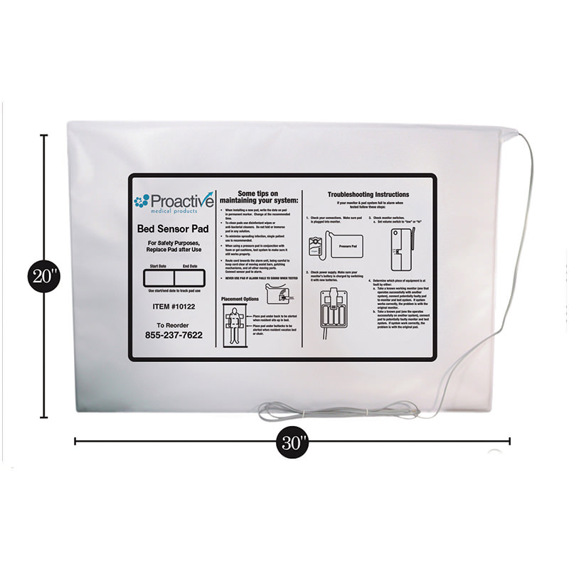 Protekt Extra Wide Bed Sensor Pad
