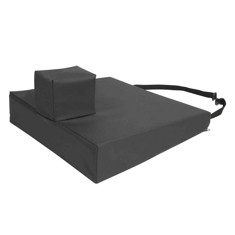 Protekt Foam Wedge With Pommel Wheelchair Cushion