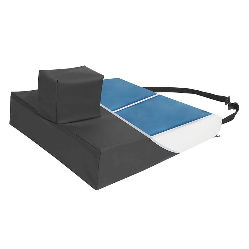 Protekt Gel Wedge With Pommel Wheelchair Cushion