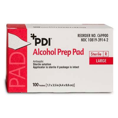 PDI NonWoven Gauze Alcohol Prep Pad