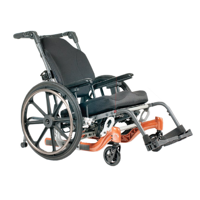 Fuze T20 tilt-in-space manual wheelchair