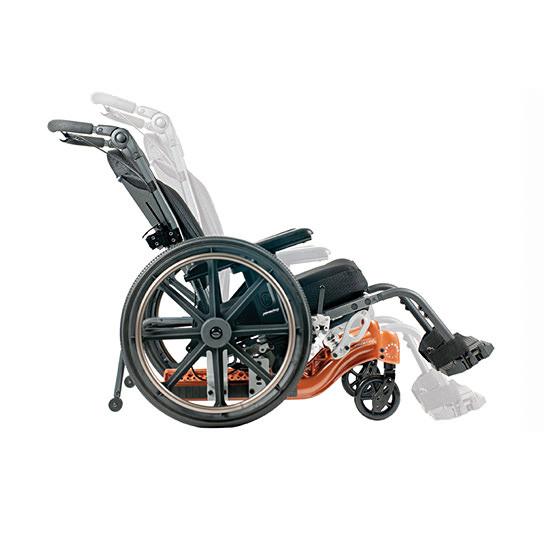 PDG Fuze T20 tilt-in-space manual wheelchair