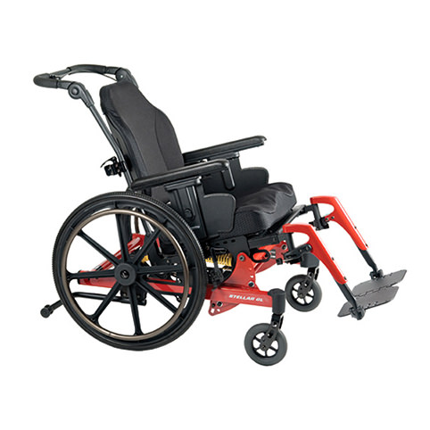 PDG Stellar GL tilt manual wheelchair