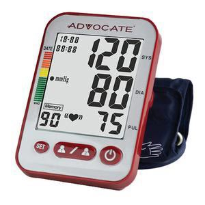 Pharma Advocate Upper Arm Blood Pressure Monitor with Large Cuff
