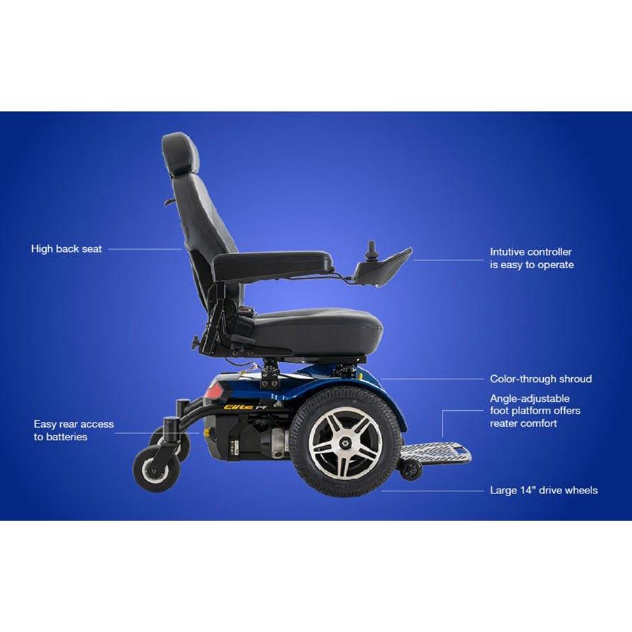 Pride Jazzy Elite 14 Wheelchair