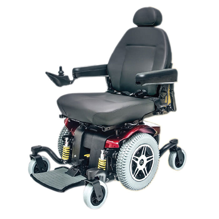 Pride Jazzy 614 HD power wheelchair