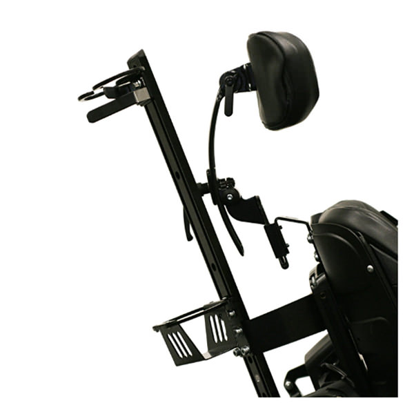 Permobil crutch holder