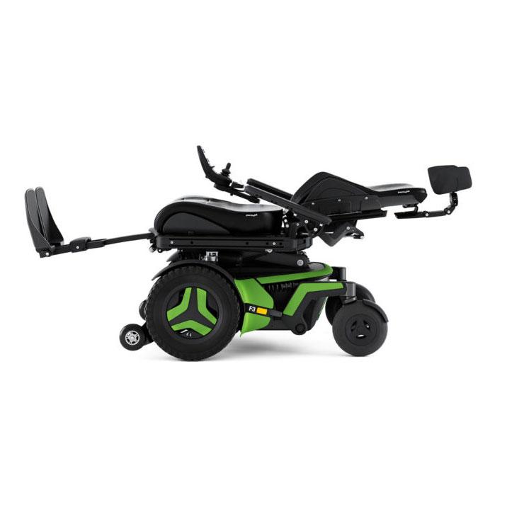 Permobil F3 Corpus Power Wheelchair - 180° Recline