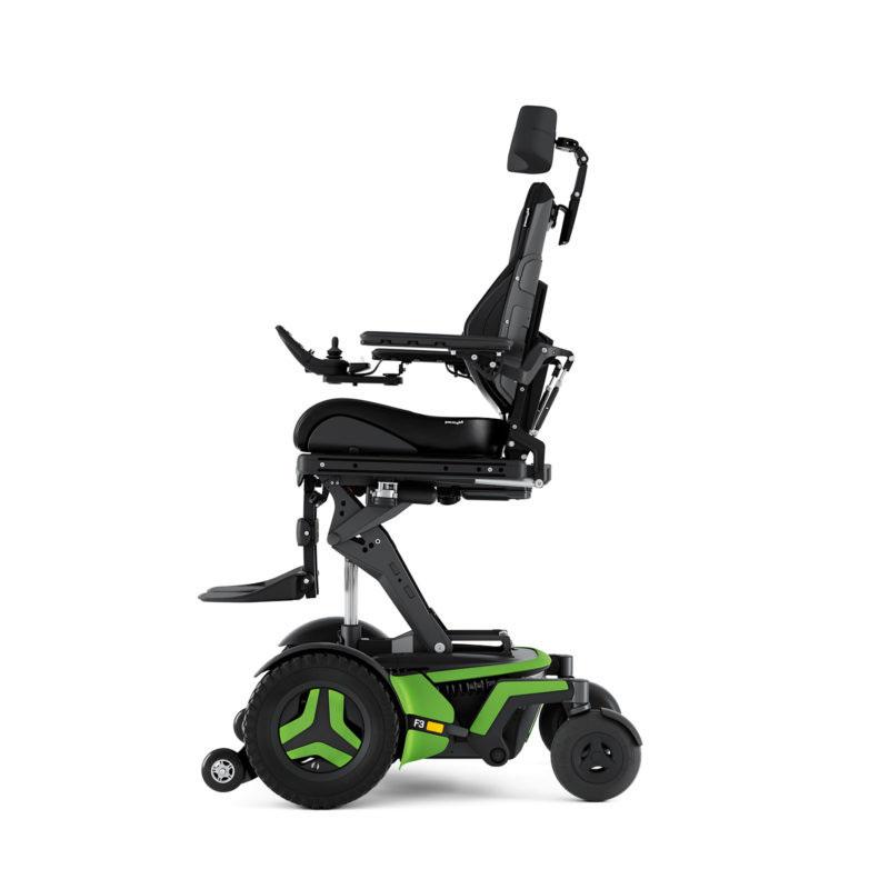 Permobil F3 Corpus Power Wheelchair - Activeheight