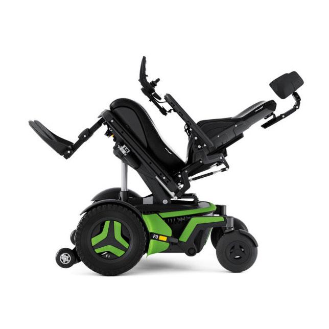 Permobil F3 Corpus Power Wheelchair - Tilt Feature