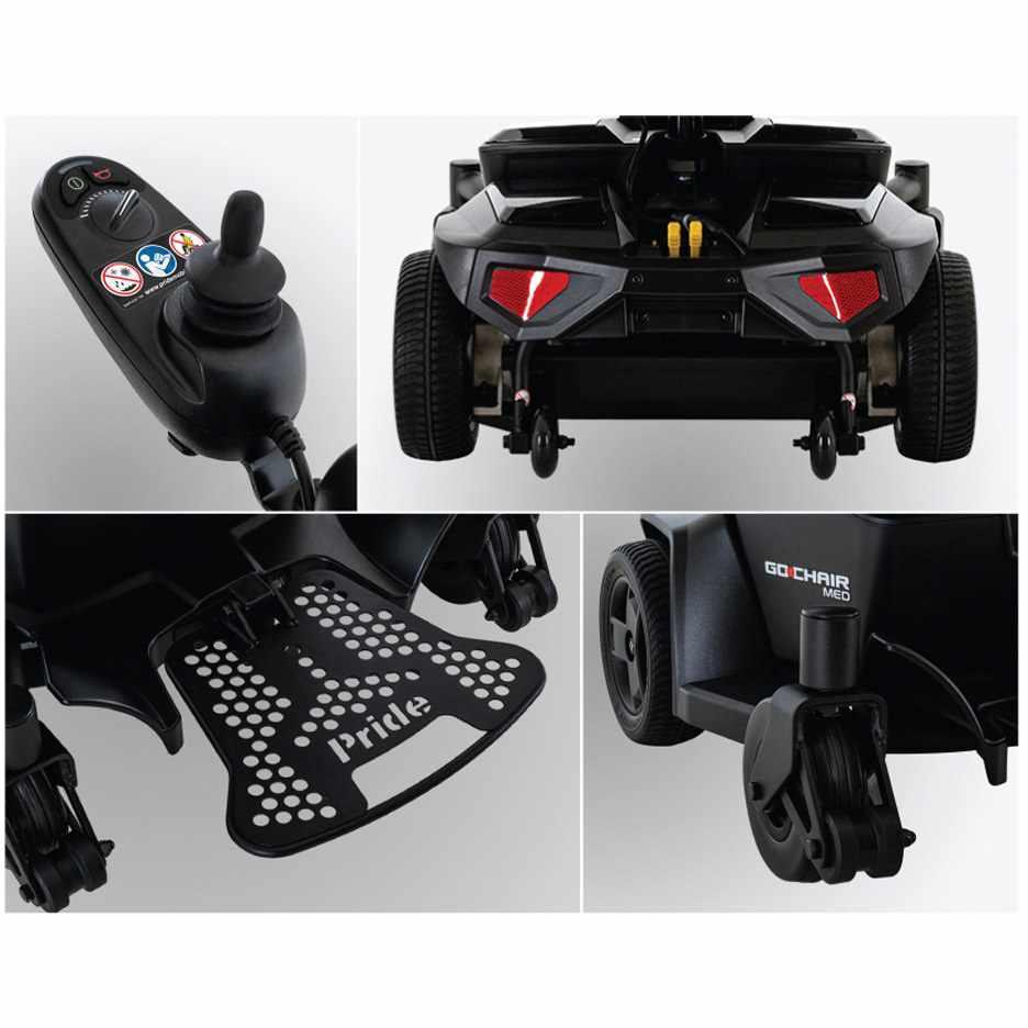 Pride Go Chair MED travel power wheelchair