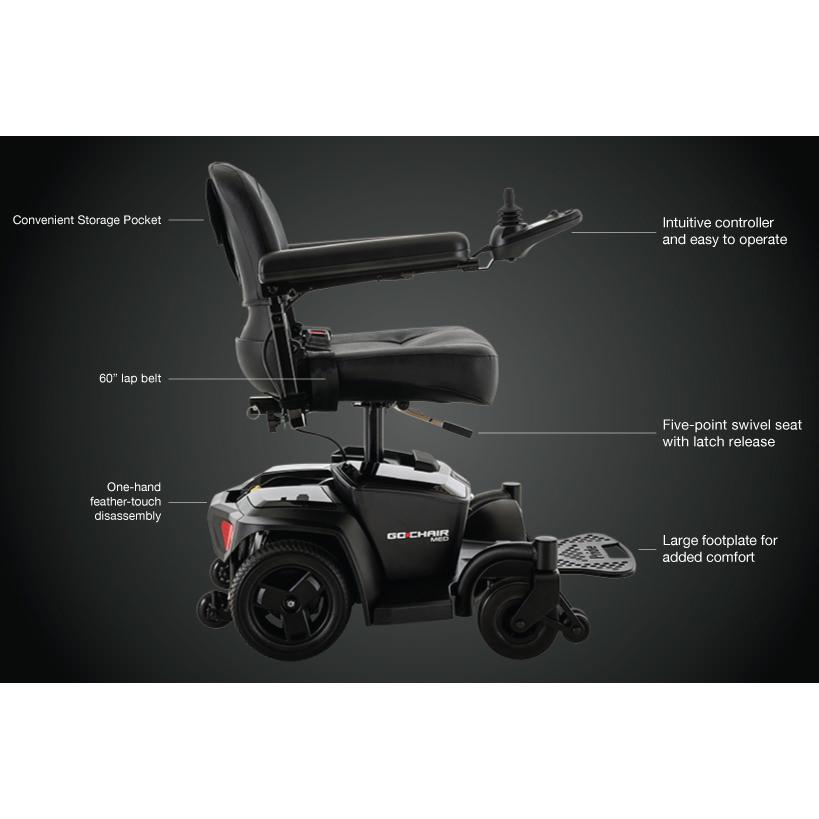 Pride Go Chair MED wheelchair