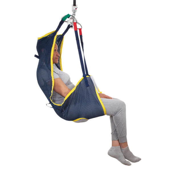 Prism Hammock Sling with Head Support   Handicare Sling with Head Support