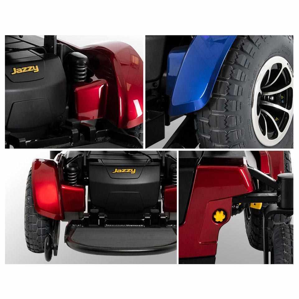 Pride Jazzy 1450 power wheelchair