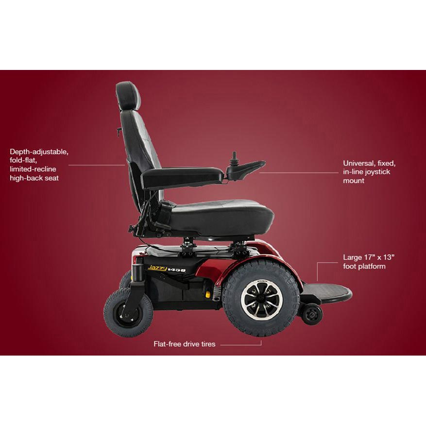 Pride Jazzy 1450 wheelchair
