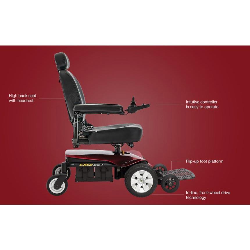 Pride Jazzy Elite ES-1 Power Wheelchair