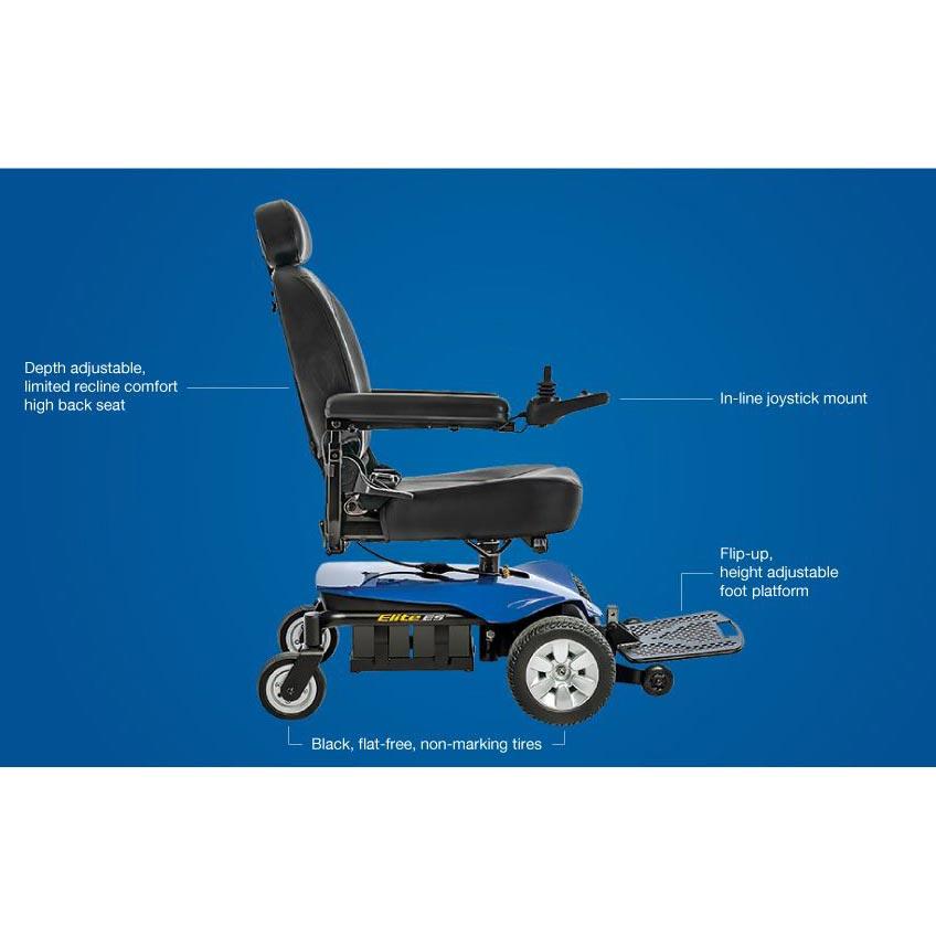 Pride Jazzy Elite ES Portable Wheelchair