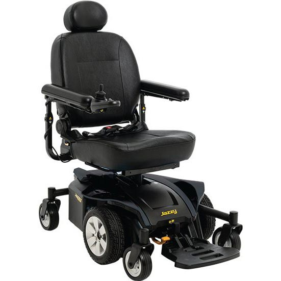 Pride Jazzy Select 6 2.0 power wheelchair
